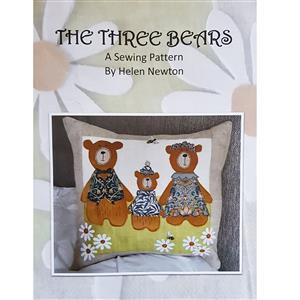 Helen Newton's Three Bears Cushion Instructions