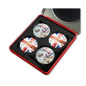 Union Jack Pattern Weights Pack Of 4