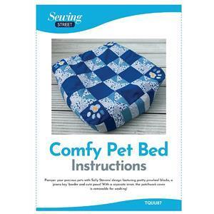Comfy Pet Bed Instructions