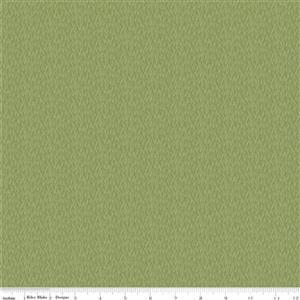Riley Blake Tea With Bea Green Grass Fabric 0.5m