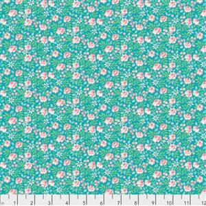 Dena Designs Canberra Rose on Aqua from Adelaide Grove Range 0.5m