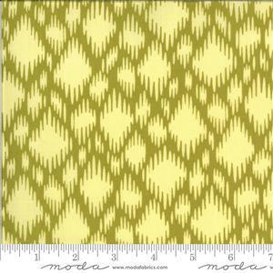 Moda Winkipop Yellow Diamond Fabric 0.5m