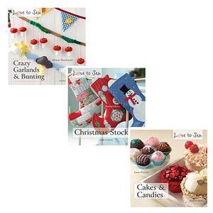 Love to Sew 3 For 2 Book Offer: Bunting, Stockings & Cakes
