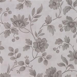Moda Daybreak Morning Glory Tonal Silver Fabric 0.5m