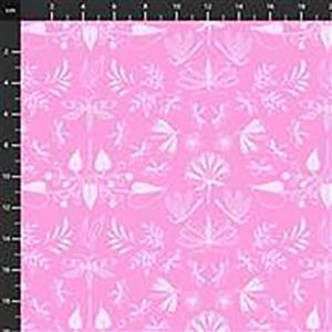 Aerial Wingspan On  Pink Fabric 0.5m
