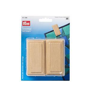 Prym Natural Coloured Quilt Hangers Set of 2