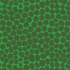 Kaffe Fassett Collective Jumble in Emerald Fabric 0.5m