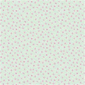 Liberty Deco Dance Collection in Speckled Rose Fabric 0.5m
