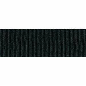 Black Grosgrain Ribbon 40mm x 1m