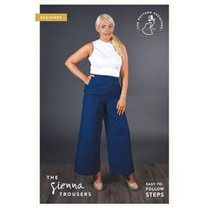 The Pattern Preacher Sienna Trousers Pattern. Sizes 6-20