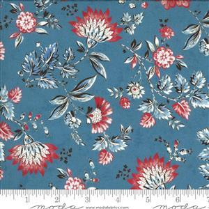 Moda Regency Zarafa in Floral Blue 0.5m