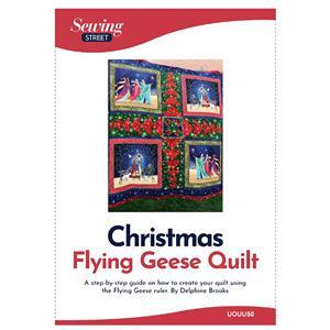 Delphine Brooks' Christmas Flying Geese Quilt Instructions
