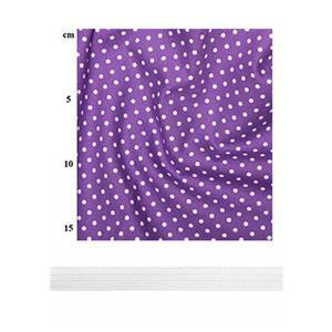 Purple Spots Boys Parka Bundle: Fabric (1.5m) & Elastic