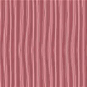 Hannah Basic Pink Stripes Fabric 0.5m