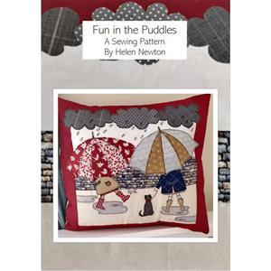 Helen Newton's Fun in the Puddles Cushion Instructions