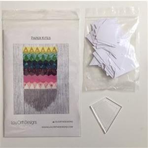 Paper Kites by Lou Orth Pattern, includes Paper Pieces and Acrylic Template