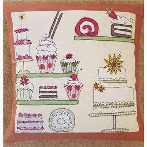 Helen Newton's Cake Shop Cushion Instructions