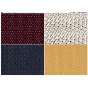 Autumn Days Fat Quarter 1 Fabric Panel 140x105cm