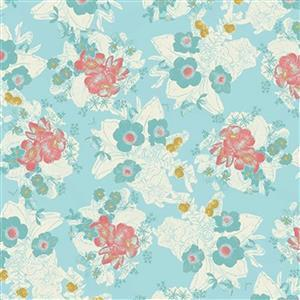 Riley Blake Faith, Hope and Love Capri Fabric 0.5m