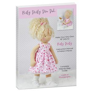 Polly Dolly Instruction Manual & Pattern Pieces with Free Knitting Pattern PDF