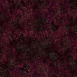 Hoffman Autumn Is In The Air Mulberry Gold Fabric 0.5m