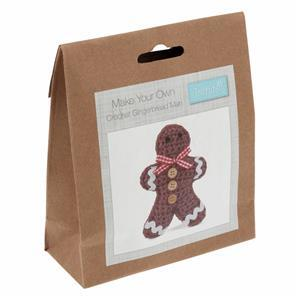 Christmas Gingerbread Man Crochet Kit