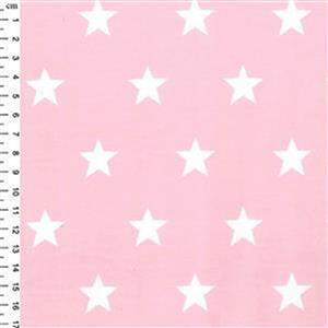Pink Stars Children's Animal Applique Dress Fabric Bundle (2.5m)