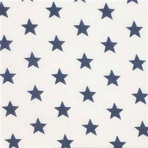 Mini Star Navy Fabric 0.5m