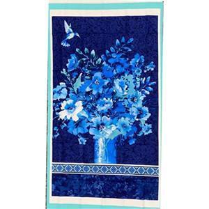 Henry Glass Midnight Sapphire Panel 0.6m