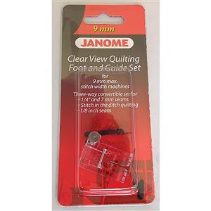 Janome Clear View Quilting Foot & Guide SetCat D