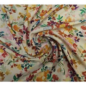 Sunrise Floral Cotton Marlie Lawn Fabric 0.5m