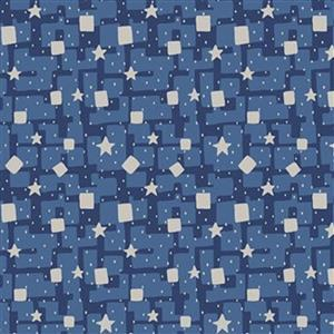 Liberty Adventures In The Sky in Cosmic Scatter Fabric 0.5m
