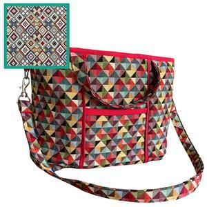 Little Aztec Tapestry Bag Kit: Instructions & Fabric (1m)