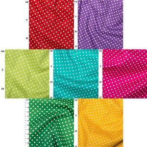 Summer Rainbow Spot Fabric Bundle (3.5m)