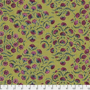 Sanderson Ottoman Flowers in Garden Fabric from Cashmere Range 0.5m
