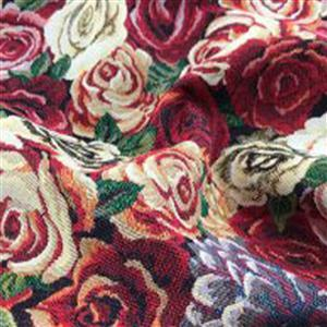 New World Tapestry Amsterdam Rose Fabric 0.5m