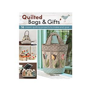 Quilted Bags and Gifts Book by Akemi Shibata