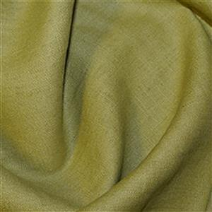 Chartreuse Enzyme Washed 100% Linen Fabric Bundle (3m)