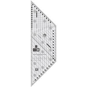 Creative Grids® Non-Slip 45° Diamond and Lone Star Bias Ruler - 15.2cm (6