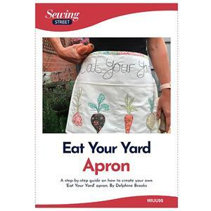 Delphine Brooks Eat your Yard Apron Instructions