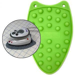 Silicone Mini Iron Rest Green