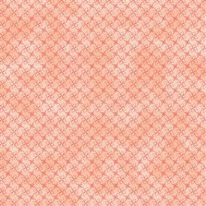 Gradient Salmon Pink Fabric 0.5m
