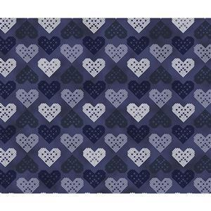 Christmas Wonders Blue Fabric 0.5m