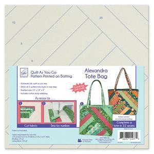 Quilt As You Go Alexandra Tote Bag