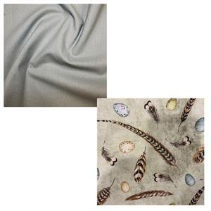 Feathers Bag Making Fabric Bundle (1m)
