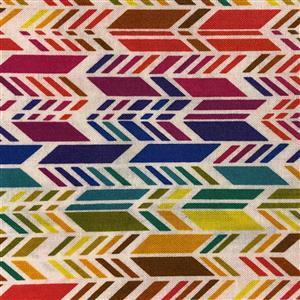 Alison Glass Art Theory 3D Multi Arrow Fabric 0.5m