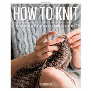 How to Knit Book by Debbie Tomkies SAVE 20%