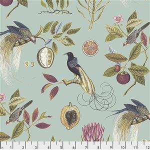 Sanderson Paradesia in Garden Fabric from Cashmere Range 0.5m