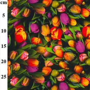 A Bunch of Tulips Fabric 0.5m