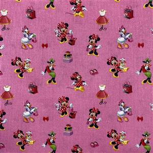 Disney Minnie Mouse & Friends Fabric 0.5m
